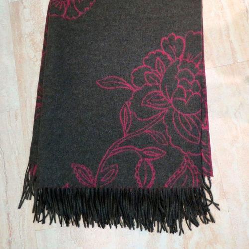 Decke «Blüte pink»
