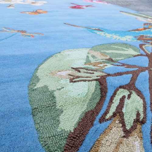 Rug «Wegwood Hummingbird»